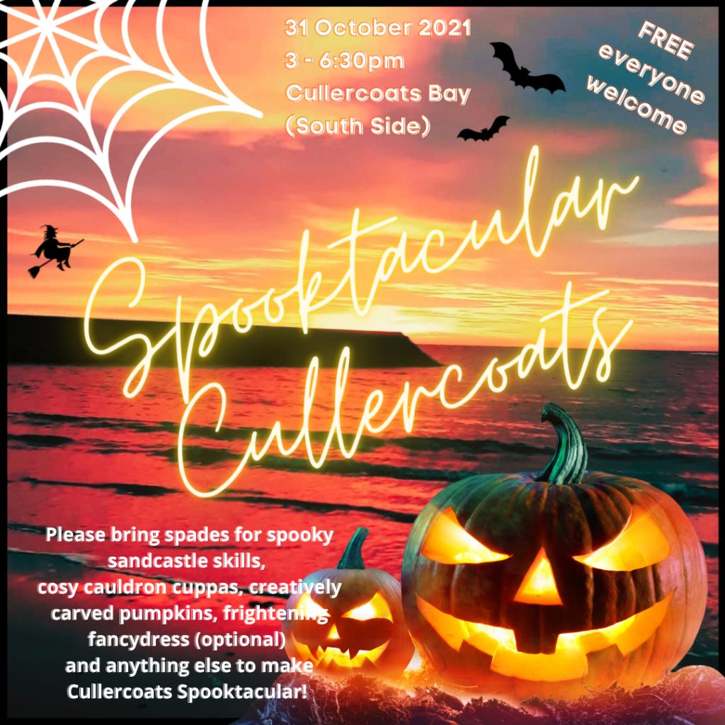 advert for Spooktacular Cullercoat